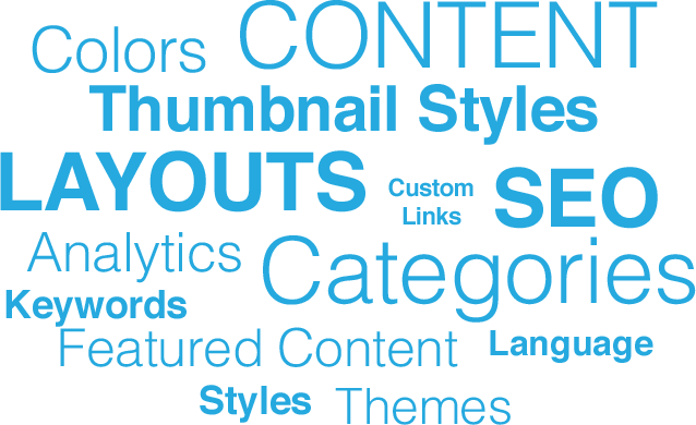 Cambuilder gives you the power to customize colors, themes, content, thumbnail styles, layouts and categories not to mention giving you access to valuable analytics to optimize your affiliate site